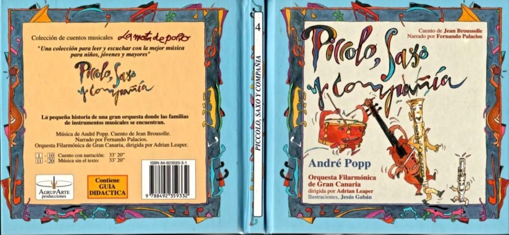 Fernando Palacios -Piccolo, Saxo y Cía